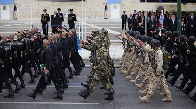 25η Μαρτίου 2019: Τι ώρα αρχίζει η στρατιωτική παρέλαση στην Αθήνα