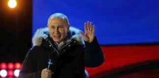 19 Μαρτίου: Σαν σήμερα Ο Πούτιν επανεκλέγεται με 76,65%