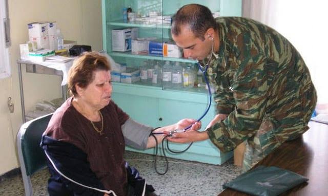 στρατιώτες γιατροί, χωριό του Τσίπρα, Ναύπλιο, στρατιωτικός καρδιολόγος έβρος