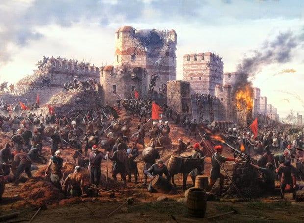 Άλωση Κωνσταντινουπόλεως, 29 Μαΐου