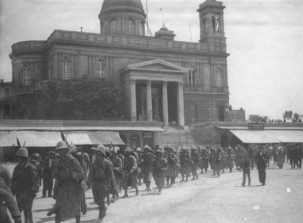 Συμμαχικός αποκλεισμός, 24 Μαΐου