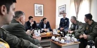 130 Σμηναρχία Μάχης: Το μήνυμα Τσίπρα στην Αεροπορία