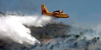 αντιπυρική περίοδος Πυροσβεστικά αεροσκάφη CL-215