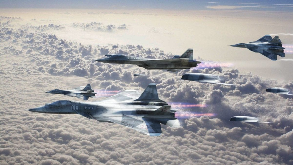 Ρωσική αεροπορία: Ετοιμάζει τρία συντάγματα με Su-57