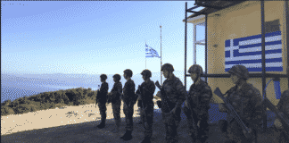 Τουρκική πρόκληση φυλάκιο Παναγιά