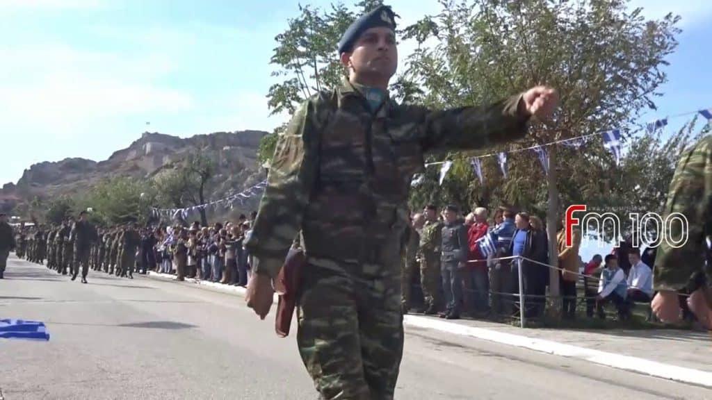 Στρατιωτική παρέλαση Λήμνος: Μήνυμα από τους ακρίτες