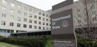 Τουρκία Στέιτ Ντιπάρτμεντ: Η Τουρκία να σταματήσει τις γεωτρήσεις στην Κύπρο ΑΟΖ Στέιτ Ντιπάρτμεντ: Παίρνει θέση για την ΑΟΖ των νησιών Στέιτ Ντιπάρτμεντ για Πομπέο και αμυντική συμφωνία Ελλάδας-ΗΠΑ Ταξιδιωτική Οδηγία ΗΠΑ για Τουρκία: Κίνδυνος για συλλήψεις Αμερικανών Σφαλιάρα ΗΠΑ σε Τουρκία: Πρόκληση οι γεωτρήσεις στην Κυπριακή ΑΟΖ Το Στέιτ Ντιπάρτμεντ S-400 ΗΠΑ Τουρκία