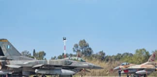 Ισραηλινοί πιλότοι άσκηση ΗΝΙΟΧΟΣ Ισραηλινή αεροπορία Πολεμική Αεροπορία