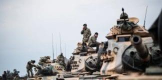 Τουρκική εισβολή στη Συρία κομάντος