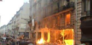 Έκρηξη στο παρίσι πυροσβέστες