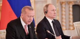 Ερντογάν κατά Πούτιν για τους βομβαρδισμούς στο Ιντλίμπ