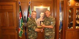 1η Στρατιά: Τι συζήτησαν τα «κομάντο» Φλώρος - Δημητρόπουλος ΦΩΤΟ