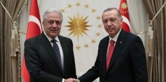 Αβραμόπουλος - Ερντογάν σήμερα για το προσφυγικό