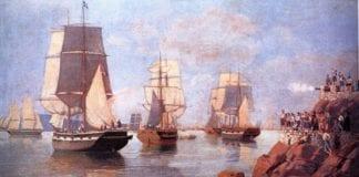 Αρβανίτικα μιλούσαν οι θρυλικότεροι ήρωες του 1821 1η Αυγούστου 1831: Ο Ανδρέας Μιαούλης πυρπολεί τη φρεγάτα «Ελλάς»