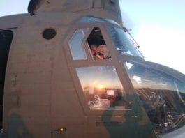Εύβοια φωτιά: Η ευχή Καμπά στους πιλότους και στο προσωπικό υποστήριξης των ελικοπτέρων σήμερα τα ξημερώματα ΦΩΤΟ