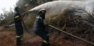 Εύβοια φωτιά 2019: Χωρίς ενεργό μέτωπο τα ξημερώματα
