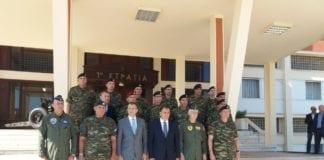 Ο ΥΕΘΑ Νίκος Παναγιωτόπουλος ΤΩΡΑ στην 1η Στρατιά και στο ΑΤΑ