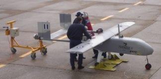 Το UAV Πήγασος ΙΙ εκτάκτως στη Χίο για το προσφυγικό