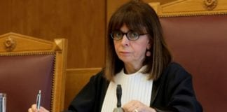 Με 261 ψήφους, η ανώτατη δικαστικός Αικατερίνη Σακελλαροπούλου εξελέγη από τη Βουλή των Ελλήνων στο αξίωμα του Προέδρου της Δημοκρατίας.