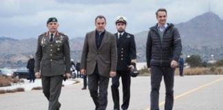 ΚΥΣΕΑ 1η Μαρτίου: Αποφάσισε μέτρα για Έβρο - νησιά Αιγαίου 115 Πτέρυγα Μάχης: Ο Μητσοτάκης πήγε για πράσινη ανάπτυξη