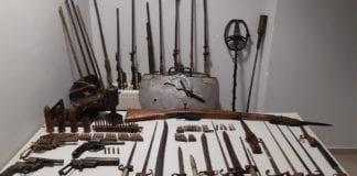 Χειροβομβίδες και πολεμικό υλικό σε σπίτι 32χρονου στο Κιλκίς - Εντοπίστηκαν και κατασχέθηκαν από αστυνομικούς του Τμήματος Ασφάλειας