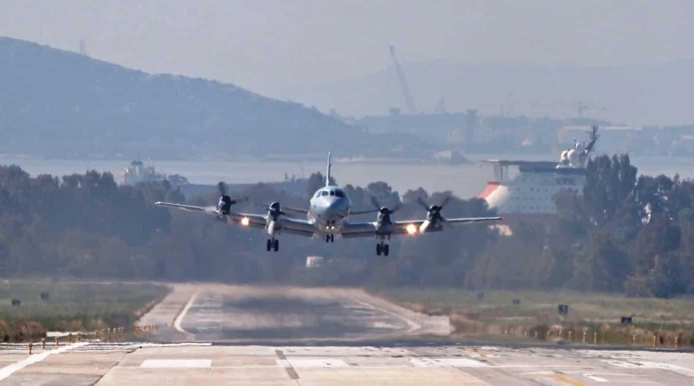 P-3B Orion με ΝΑΤΟϊκά «φτερά» προσγειώθηκε στην Κύπρο
