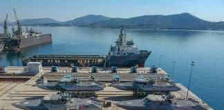 Σκάφη Ανορθόδοξου Πολέμου MK-V έφθασαν στη ΔΥΚ
