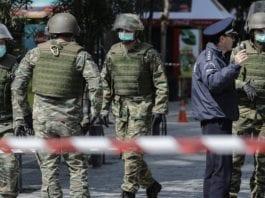 Ο Στρατός στήνει σκηνές στο Κρανίδι (video)