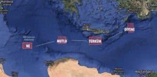Τουρκικές NAVTEX Νότια της Κρήτης σχηματίζουν φράση του Κεμάλ