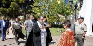 Με τον ΥΦΕΘΑ στο 401 ΓΣΝΑ ο ιερέας που χάρηκε το «τζαμί Αγία Σοφία»;