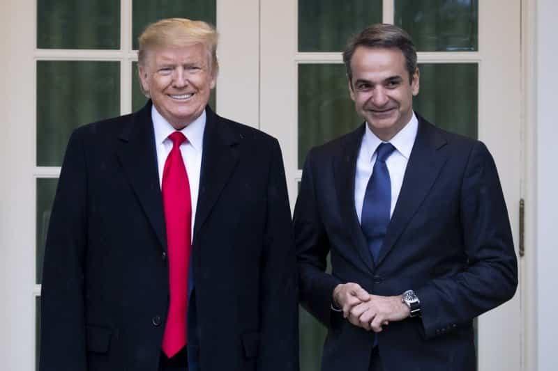 Τηλεφωνική επικοινωνία Τραμπ - Μητσοτάκη για Ανατολική Μεσόγειο