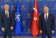 Στόλτενμπεργκ Τουρκία Ελλάδα ΝΑΤΟ