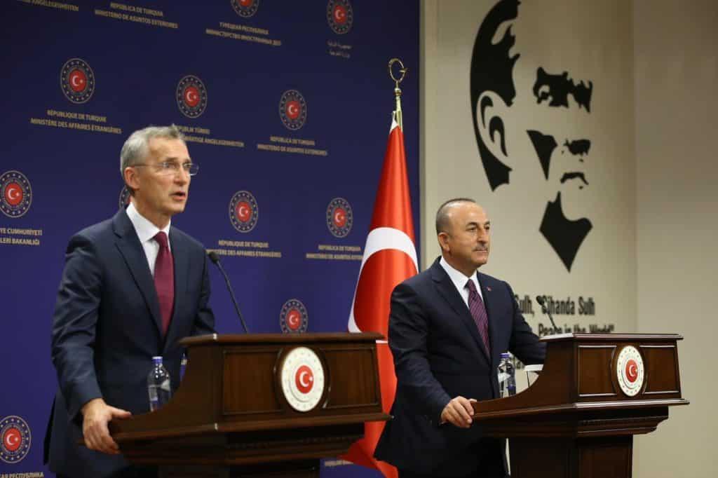 Στόλτενμπεργκ: Το ΝΑΤΟ στηρίζει Τουρκία και τον διάλογο με Ελλάδα