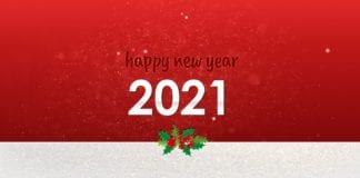2021: Καλή χρονιά! Είθε ο νέος χρόνος να μας φέρει λιγότερα....