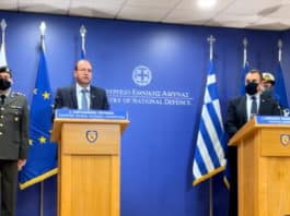 Υπουργοί Άμυνας: Η Τουρκία κάνει υβριδικό πόλεμο σε Ελλάδα και Κύπρο, τόνισαν οι κ. Παναγιωτόπουλος και Πετρίδης σε σημερινές τους δηλώσεις