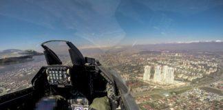 Ελληνικά μαχητικά F-16 γιόρτασαν πετώντας πάνω από τα Σκόπια