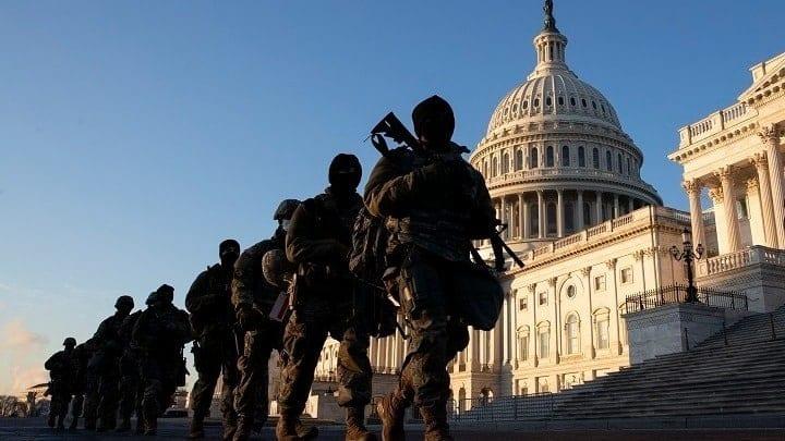 Η Εθνοφρουρά θα παραμείνει στο Καπιτώλιο έως τα τέλη Μαΐου
