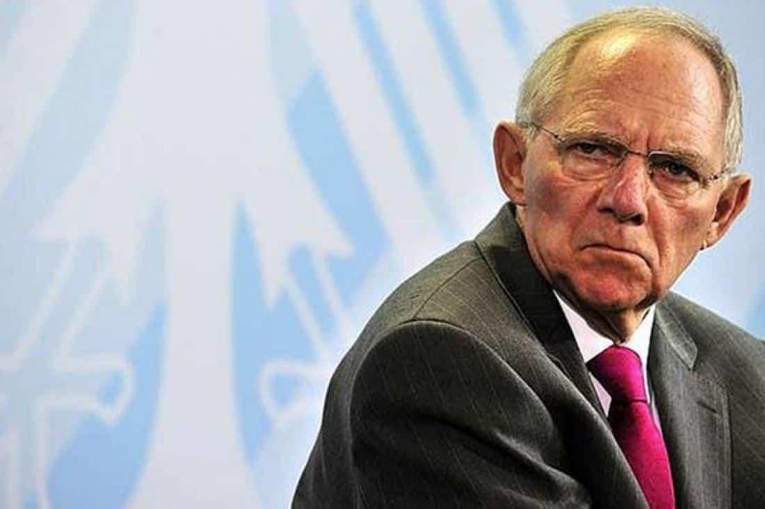 Ευρωζώνη Ο Σόιμπλε θέλει ένα νέο Γερμανικό Ράιχ;