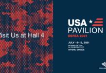 DEFEA 2021: Σημείο αναφοράς το αμερικανικό περίπτερο USA Pavilion, αναφέρει σε ανακοίνωσή του το Ελληνο-Αμερικανικό Εμπορικό Επιμελητήριο