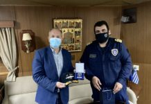 Ο βουλευτής Στέφανος Γκίκας επισκέφθηκε χθες την Φρεγάτα «ΥΔΡΑ» στην Κέρκυρα, όπου βρίσκεται στο πλαίσιο του Θερινού Εκπαιδευτικού Πλου της Σχολής Ναυτικών Δοκίμων