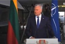 Αναχαίτιση μαχητικών διακόπτει συνέντευξη πρωθυπουργών